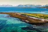 Belle landsscape, îles lofoten, norvège — Photo