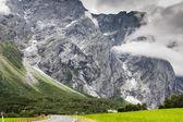 Belle vallée, route de troll, norvège — Photo