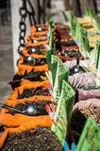 スパイス店グラナダ、スペインで東洋の市場 — ストック写真