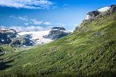 Mountain scenery in Jotunheimen National Park in Norway — Stock Photo