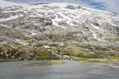 Mountain scenery in Jotunheimen National Park in Norway — Stock Photo