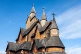 Stave Church Heddal, Norway — Stock Photo