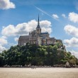 Le Mont Saint Michel, Normandy, France — Stock Photo