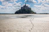 Le Mont Saint Michel, Normandy, France — Stock Photo
