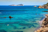 Figueral beach in Ibiza, Spain — Stock Photo