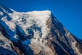 The Alps over Chamonix — Foto Stock