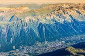 The Alps over Chamonix — Stock Photo