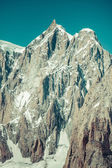 Mont Blanc massif in the French Alps,Chamonix Mont Blanc — ストック写真