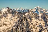 Ver os na Alpes do aiguille du midi, chamonix. — Fotografia Stock
