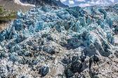 Argentiere Glacier in Chamonix Alps, Mont Blanc Massif, France. — Stock Photo
