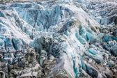 Argentiere Glacier view, Chamonix, Mont Blanc Massif, Alps, Fran — Foto de Stock