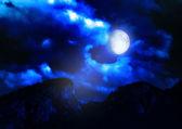 Night landscape — Stock Photo
