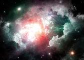 Galaxy dans un espace libre — Photo