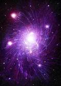 Galaxia en un espacio libre — Foto de Stock