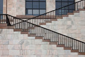 Architectural detail of a stairway — Stock Photo