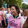 Women at the Avon running 2013 in Milan - Stock Photo