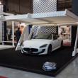Постер, плакат: Maserati car at Made expo 2013 in Milan Italy