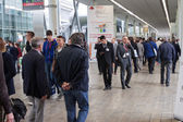 People at Made expo 2013 in Milan, Italy — Stock Photo