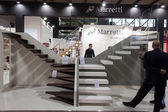 Staircases at Made expo 2013 in Milan, Italy — Stock Photo