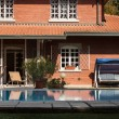 Architectural detail of a nice villa — Stock Photo #33284121