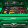 Fiat 500 refrigerator at Host 2013 in Milan, Italy — Stock Photo #33777981