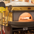 Постер, плакат: Pizza oven at Host 2013 in Milan Italy