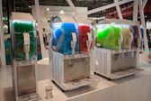 Slush machines at Host 2013 in Milan, Italy — Stock Photo