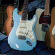 Electric guitars at Milano Guitars & Beyond 2013 in Milan, Italy — Stock Photo #33884169