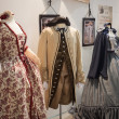 Period costumes at Weekend Donna 2013 in Milan, Italy — Stockfoto