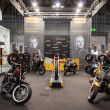Continental stand at EICMA 2013 in Milan, Italy — Stock Photo
