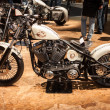 Custom motorbike at EICMA 2013 in Milan, Italy — Stock Photo