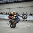 Trial show at EICMA 2013 in Milan, Italy — Stock Photo