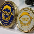 Italian caviar at Golosaria 2013 in Milan, Italy — Stock Photo