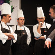 Cooks at Golosaria 2013 in Milan, Italy — Stock Photo