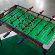 Table football game at G! come giocare in Milan, Italy — Stock Photo