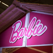 Detail of Barbie's house at G! come giocare in Milan, Italy — Stock Photo