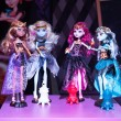 Gothic Barbie dolls at G! come giocare in Milan, Italy — Stock Photo