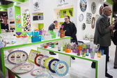 Посуда на выставке Хоми, Главная Международная выставка в Милан, Италия — Стоковое фото