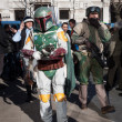 People of 501st Legion take part in Star Wars Parade in Milan, Italy — Stock Photo #39756513