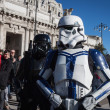People of 501st Legion take part in Star Wars Parade in Milan, Italy — Stock Photo #39756521