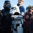 People of 501st Legion take part in Star Wars Parade in Milan, Italy — Stock Photo #39756547