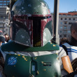 People of 501st Legion take part in Star Wars Parade in Milan, Italy — Stock Photo #39756557