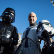 People of 501st Legion take part in Star Wars Parade in Milan, Italy — Stock Photo #39756565