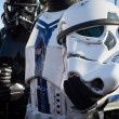 People of 501st Legion take part in Star Wars Parade in Milan, Italy — Stock Photo #39756569