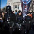 People of 501st Legion take part in Star Wars Parade in Milan, Italy — Stock Photo #39756585