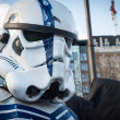 People of 501st Legion take part in Star Wars Parade in Milan, Italy — Stock Photo #39756611