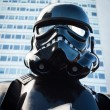 People of 501st Legion take part in Star Wars Parade in Milan, Italy — Stock Photo #39756641