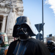 People of 501st Legion take part in Star Wars Parade in Milan, Italy — Stock Photo #39756671