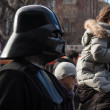 People of 501st Legion take part in Star Wars Parade in Milan, Italy — Stock Photo #39756673
