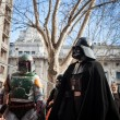 People of 501st Legion take part in Star Wars Parade in Milan, Italy — Stock Photo #39756695